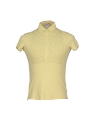 Rossopuro Polo Shirts Light Yellow