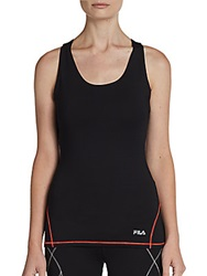 Fila The Condition Performance Tank Black Red