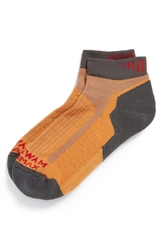Wigwam 'Merino Ridge Runner Pro' Crew Socks Men Orange