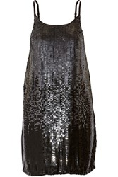 W118 By Walter Baker Kira Sequined Tulle Mini Dress