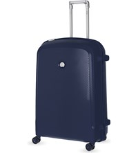 Delsey Belfort Plus Four Wheel Case 76Cm Blue