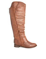 Shoemint Ann Knee High Boot Cognac
