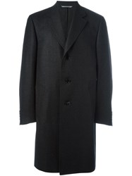 Canali Waterproof Coat Grey