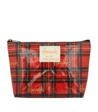 Harrods Royal Stewart Tartan Travel Pouch Unisex