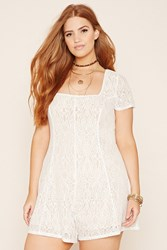 Forever 21 Plus Size Lace Romper