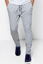 Boohoo Joggers With Stepped Hem Grey