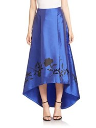 Sachin Babi Salma High Low Hem Skirt Royal Blue