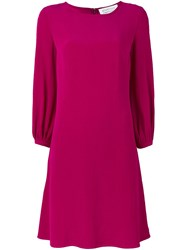 Gianluca Capannolo Shift Dress Pink And Purple