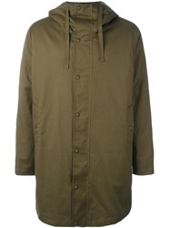 Sempach Hooded Parka Coat Green