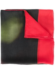 Givenchy Skull And Crossbones Print Scarf Multicolour