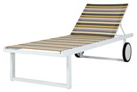 Mamagreen Stripe Chaise Lounge