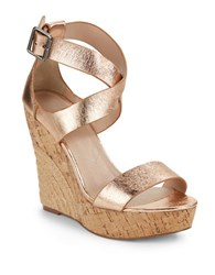 Charles By Charles David Adament Espadrille Wedges Copper