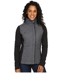 Smartwool Pinery Quilted Jacket Charcoal Heather Women's Coat Gray