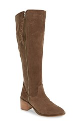 Steve Madden Women's Lasso Boot Taupe Suede