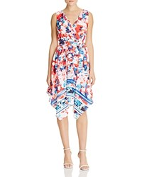 Sangria Floral Handkerchief Dress Compare At 89 Multi