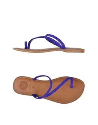 Gioseppo Thong Sandals Dark Brown