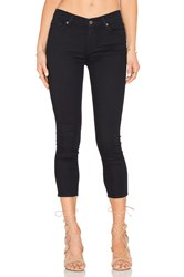 7 For All Mankind The Tonal Squiggle Capri Featherweight Blackest Blue