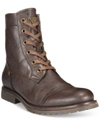 Guess Texin Boots Men's Shoes Brown