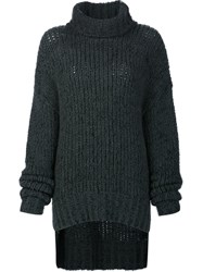 By. Bonnie Young Turtle Neck Jumper Green