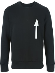 Christopher Raeburn Arrow Print Sweatshirt Black