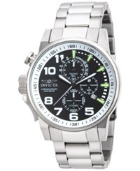 Invicta Men's Chronograph I Force Stainless Steel Bracelet Watch 46Mm 14955