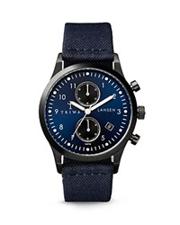 Triwa Lansen Chronograph Watch 38Mm Blue