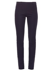 Roland Mouret Mortimer Skinny Fit Trousers Navy