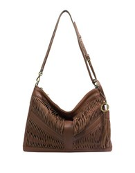 Sanctuary Leather Hobo Bag Spice