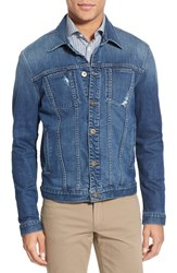 Men's Hudson Jeans 'Garrison' Denim Jacket Arcade