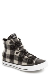 Converse Men's Chuck Taylor All Star Woolrich High Top Sneaker White Black