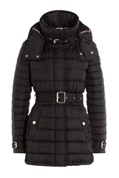 Burberry Brit Hooded Puffer Jacket Black