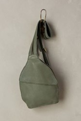 Anthropologie City Explorations Mini Backpack Olive