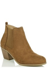 Oasis Carrie Chelsea Boot Tan