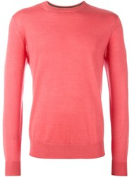 Paul Smith Classic Jumper Pink And Purple
