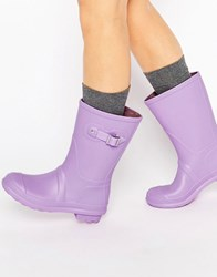 Asos Get Moving Wellies Lilac Purple