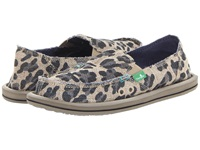 Sanuk On The Prowl Cheetah Women's Slip On Shoes Animal Print