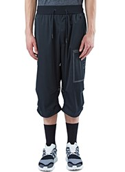Y 3 Sport Approach Cropped Track Pants Black