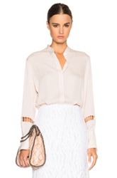 3.1 Phillip Lim Ladder Embroidery Top In Neutrals