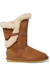 Australia Luxe Collective Nordic Shearling Boots Brown