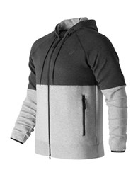 New Balance Sport Style Full Zip Hoodie Athletic Grey