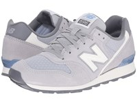 New Balance Wl696v1 Silver Mink Icarus Women's Running Shoes Gray