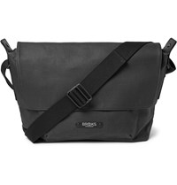 Brooks England Crosby Coated Cotton Canvas Satchel Black