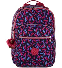 Kipling Clas Seoul Large Nylon Backpack Autumn Leaf