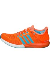 Adidas Performance Cc Cosmic Boost Cushioned Running Shoes Orange Light Blue