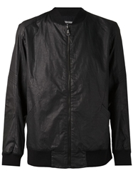 Alexandre Plokhov Flight Bomber Jacket Black