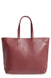 Matt And Nat 'Schlepp' Vegan Leather Tote Burgundy Cerise