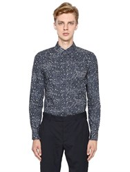 Marni Dot Printed Cotton Poplin Shirt