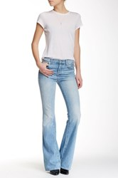 7 For All Mankind High Waisted Vintage Bootcut Jean Blue