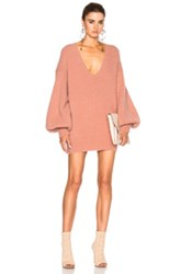 Zimmermann Karmic Slouch Sweater In Pink