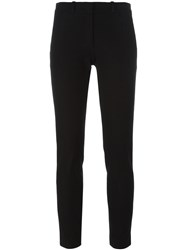 Joseph Cropped Skinny Trousers Black